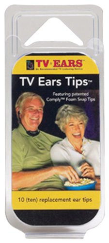 Ear Tips For Tv Ears, 5 Pair, Adapters Sold Separately