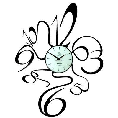 Arti  &  Mestieri Scooby Doo Clock Black (60cm x 45cm)