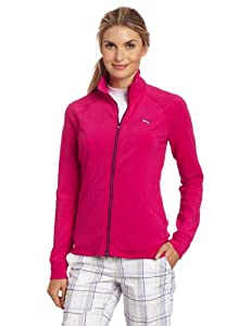 Puma Golf NA Women's Slim Track Jacket, Cabaret, Large