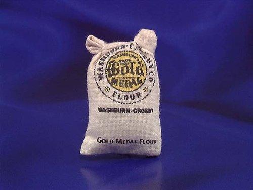 Dollhouse Miniature Sack of Flour - 1