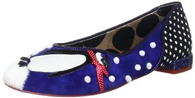 Irregular Choice Women's Rockhopper Blue Ballet 4050-3A 3.5 UK