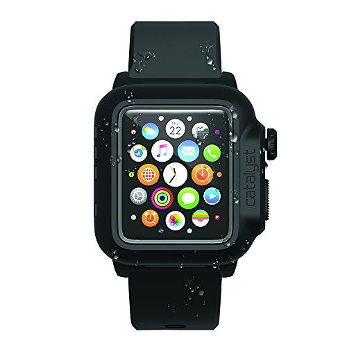 【日本正規代理店品】catalyst Apple Watch 42mm 防水ケース ブラック  CT-WPAW15-BK