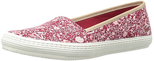 Lacoste Women's Orane 316 1 Caw Flat, Red, 7.5 M US