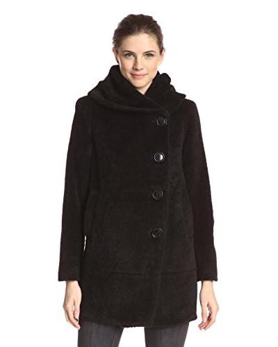 Sofia Cashmere Women's Cocoon Coat