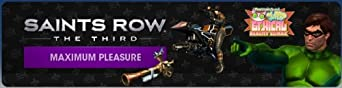 Saints Row: The Third - Maximum Pleasure Pack [Online Game Code]