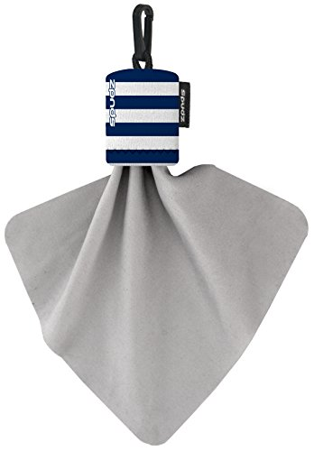 Alpine Innovations Spudz Classic Microfiber Cloth, Screen Cleaner and Lens Cleaner, Nautical Stripes, Regular, 6 x 6 Inches Alpine Stripe
