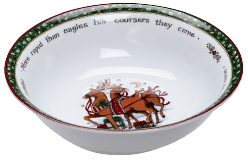 Portmeirion A Christmas Story 12-Inch Serving Bowl