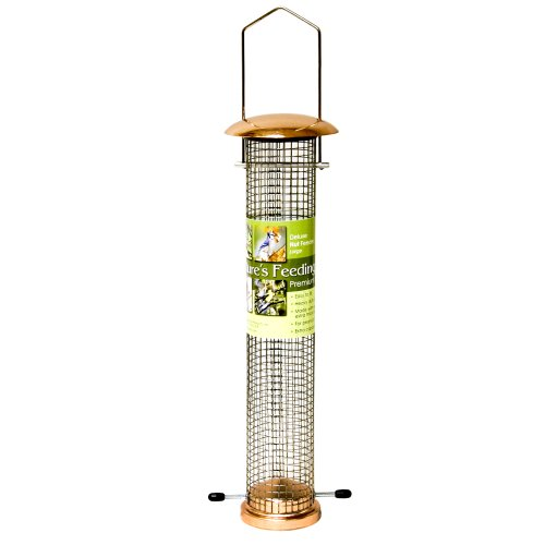 Cheap Nature's Feeding Time Deluxe Nut Bird Feeder, Large,  Copper (B004V4BCL2)
