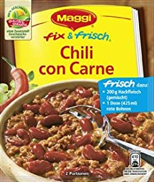 MAGGI fix & fresh chili with beans (Chili con Carne) (Pack of 4)