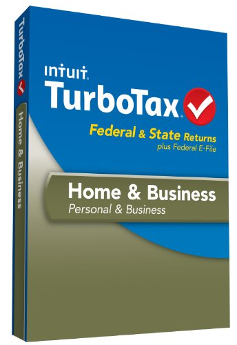 TurboTax Home and Business Fed, Efile and State 2013 with Refund Bonus Offer