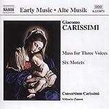 echange, troc Giacomo Carissimi - Messe à trois voix