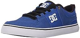 DC Lynx Vulc Unisex Skate Shoe, Blue, 9 M US