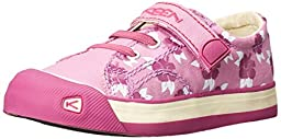 KEEN Coronado Print Shoe (Toddler/Little Kid), Lilac Chiffon Hibiscus Flower, 10 M US Toddler