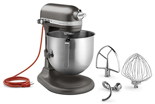 KitchenAid (KSM8990DP) 8-Quart Stand Mixer with Bowl Lift (Dark Pewter) (Large Kitchen Aid Mixer compare prices)