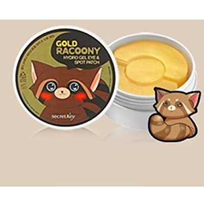 [Secretkey] Gold Racoony Hydro Gel Eye & Spot Patch 90p, Secret Key