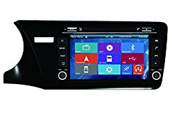 See Crusade Car DVD Player for Honda City 2014- Support 3g,1080p,iphone 6s/5s,external Mic,usb/sd/gps/fm/am Radio 8 Inch Hd Touch Screen Stereo Navigation System+ Reverse Car Rear Camara + Free Map Details