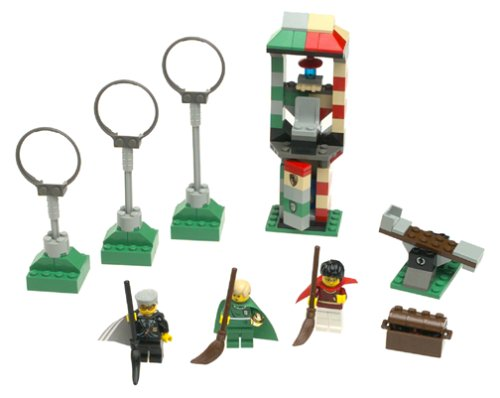 Lego Harry Potter BLUE SPELL BOOK//GOLDEN SNITCH /& BROMSTICK SET 4726