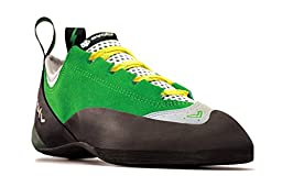Evolv Spark Climbing Shoe - Men\'s Green/Gray 14