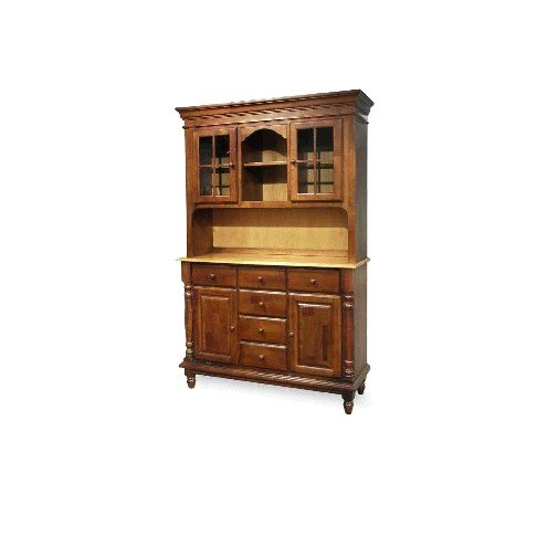 Buy Low Price International Concepts Heritage Oak,Pearl International Concepts Madison Park 51″ Buffet Hutch in Multiple Finishes (H60-80)
