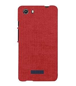 PrintVisa Watermelon Red Canvas Design 3D Hard Polycarbonate Designer Back Case Cover for MIcromax Unite 3 Q372