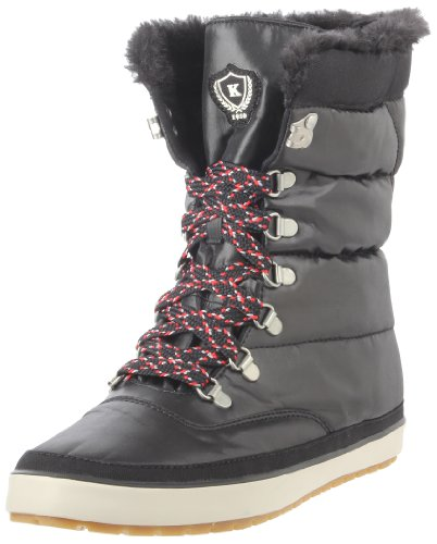 Keds Cream Puff Boot poppy red Ankle Boots Womens Black Schwarz (black) Size: 5 (38 EU)