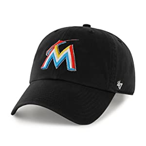 Florida Marlins Clean Up Adjustable Cap