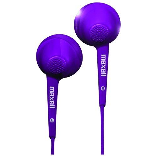 Maxell Eb-Pu Jelleez Stereo Earbuds Accs Purple