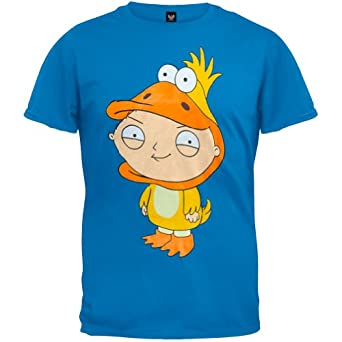 Family guy mens stewie duck t shirt 2x large for Family guy t shirts amazon