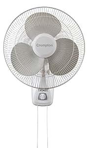 Crompton Trendz 400mm Wall Fan (Opal White)