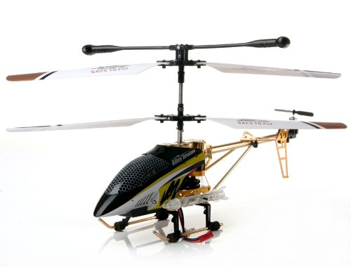 FeiMa 3-Channel Remote Control Helicopter with Gyroscope (Golden)