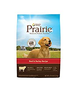 Nature's Variety Prairie Beef & Barley Recipe Dry Dog Food, 27 lb. Bag