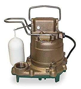 Zoeller M55 Mighty Mate Bronze Body, Poly Base Automatic