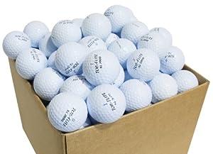 Second Chance Top Flite Magna 100 Balles de golf de récupération Qualité supérieure Grade A