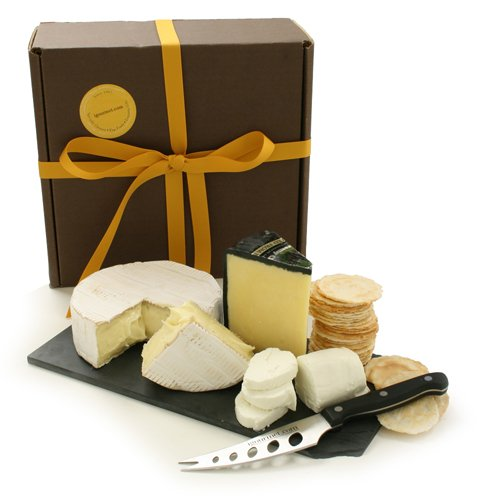 Champagne Cheese Assortment in Gift Box (3.6 pound) by igourmet.com