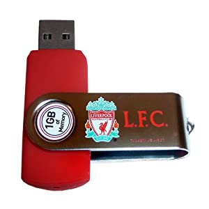 Liverpool FC Official Gift 1GB USB Flash Drive Swivel Memory Stick (RRP £14.99!) by Liverpool