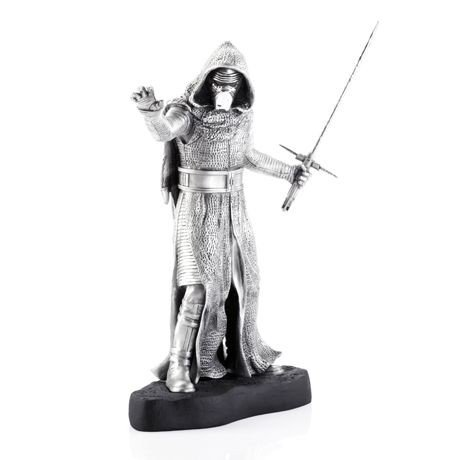 Royal Selangor Star Wars Kylo Ren Limited Edition Pewter Figure - Officially Licensed by Walt Disney (Lucasfilm) ...