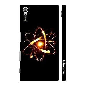 Enthopia Designer Hardshell Case Proton Nuetron Electron Back Cover for Sony Xperia XZ