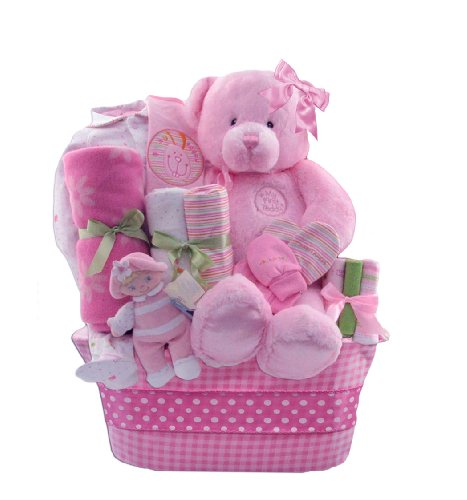 "Review: Baby Boutique® ""Little Princess"" Baby Girl's New Baby Gift Basket, Pink  Review"