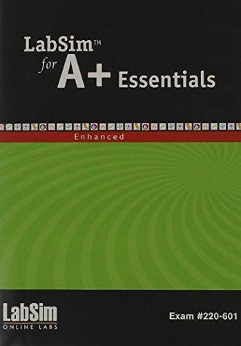 LabSim for A+ Essentials, Enhanced