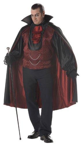 Halloween Vampire Count Costume for Plus Size