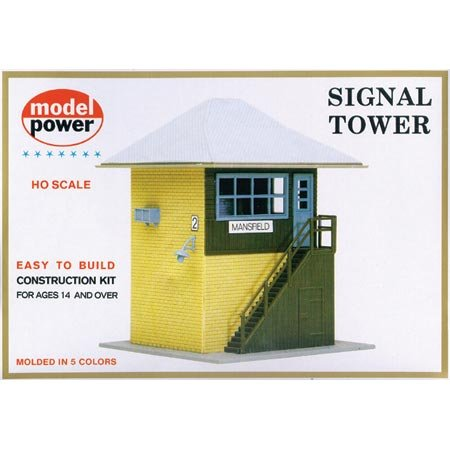 Model Power HO Scale Building Kit - Interlocking Tower