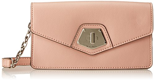 Nine West Rock And Lock Crossbody Tech Cross Body Bag, Lullaby Pink, One Size