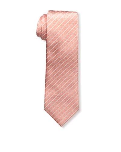 Isaia Men's 7-Fold Silk Tie, Coral