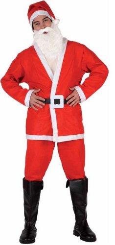 Atosa 8422259692140 - Verkleidung Weihnachtsmann Erwachsene, Größe: 50/52
