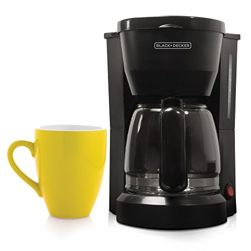Black-Decker-DCM600W-5-Cup-Drip-Coffeemaker-with-Glass-Carafe
