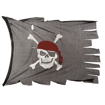 Cotton Creepy Cloth Pirate Flag Decoration