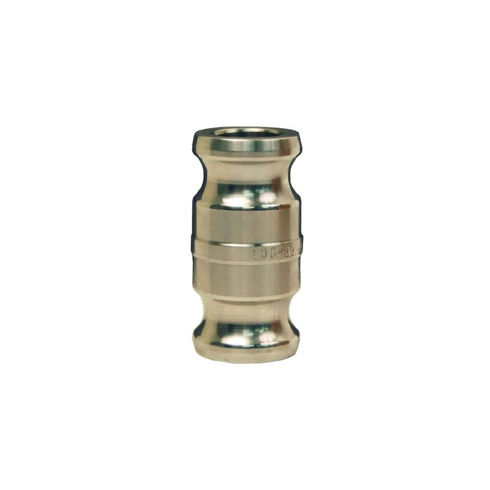 Dixon 300-AA-SS Stainless Steel 316 Cam and Groove Hose Fitting 3 Plug Spool Adapter
