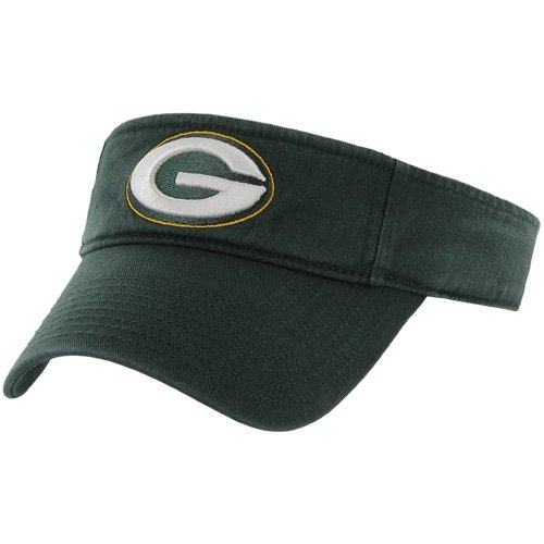 NFL Green Bay Packers Men's Clean Up Cap Visor, One Size, Dark Green