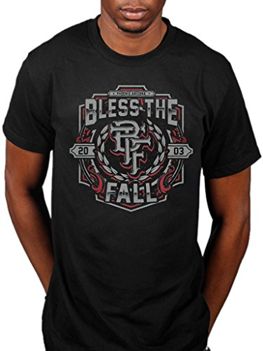 Blessthefall Maglietta con stemma ufficiale cava organismi Awakening Witness nero XXL