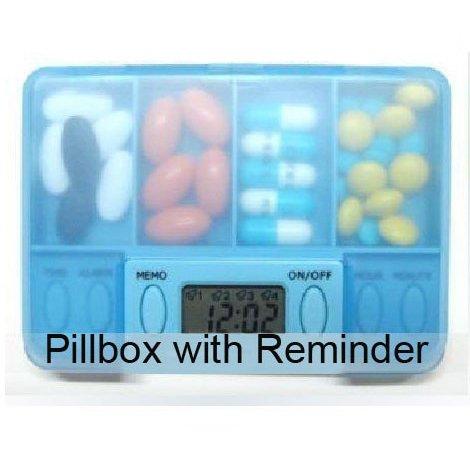 SHOPINNOV Pilulier electronique avec alarme